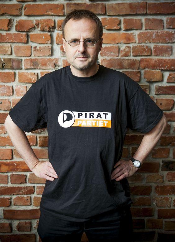 Håkon Wium Lie er frontfigur for Piratpartiet, som hittil har samlet inn 3000 av de 5000 underskriftene som trengs for å registrere partiet.