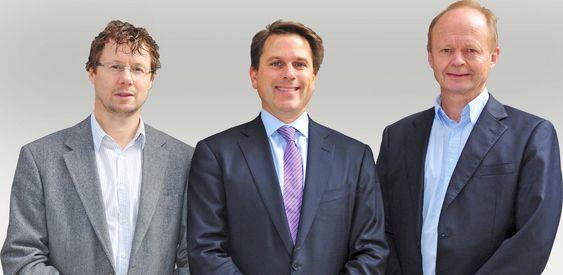 Nydro-intiativtaktnere her representert ved Espen Remmen, Gregory Malin og Olav Ulleren.