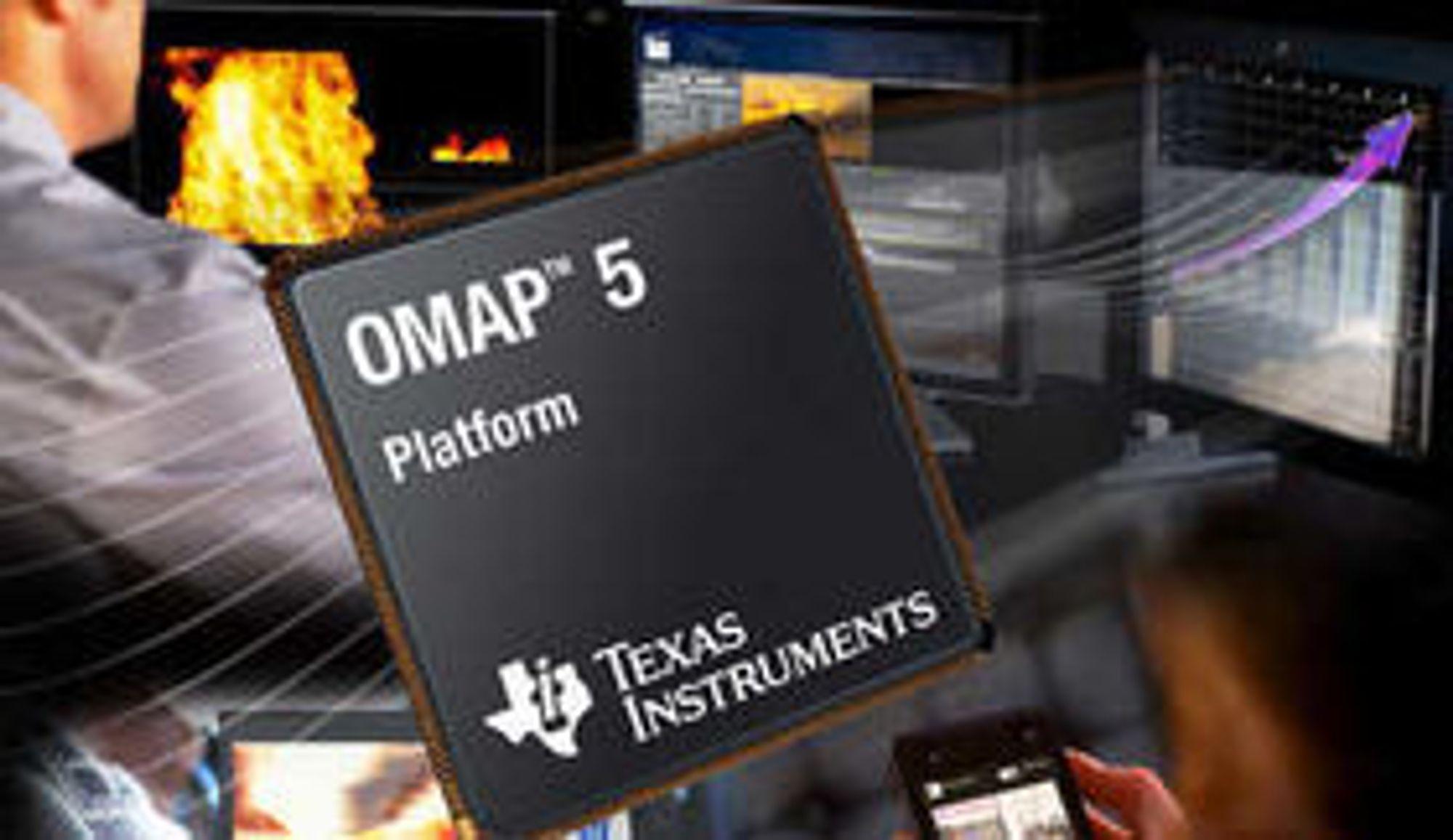 Texas Instruments tjener ikke nok på OMAP-brikkene som brukes i smarttelefoner og nettbrett. Nå vil de kutte i satsningen.