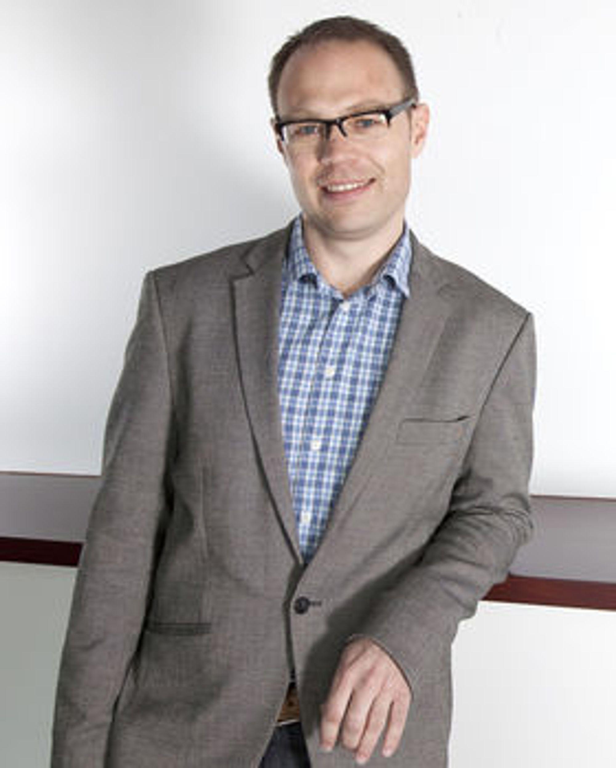 Teknologidirektør Torgeir Hovden