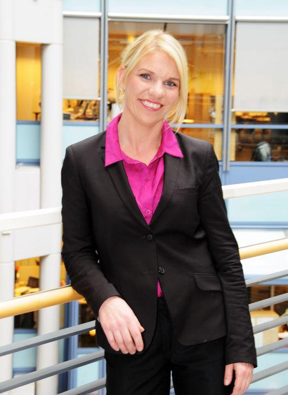 Kommunikasjonsrådgiver Mai-Bente Paulsen i NSB.