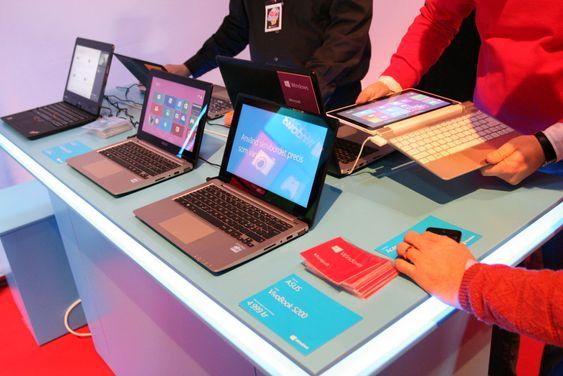 Windows 8 kommer (bokstavelig talt) i tusen nye maskiner fordelt på en mengde formfaktorer. Dessverre fikk vi ikke kikke på Surface denne gangen.