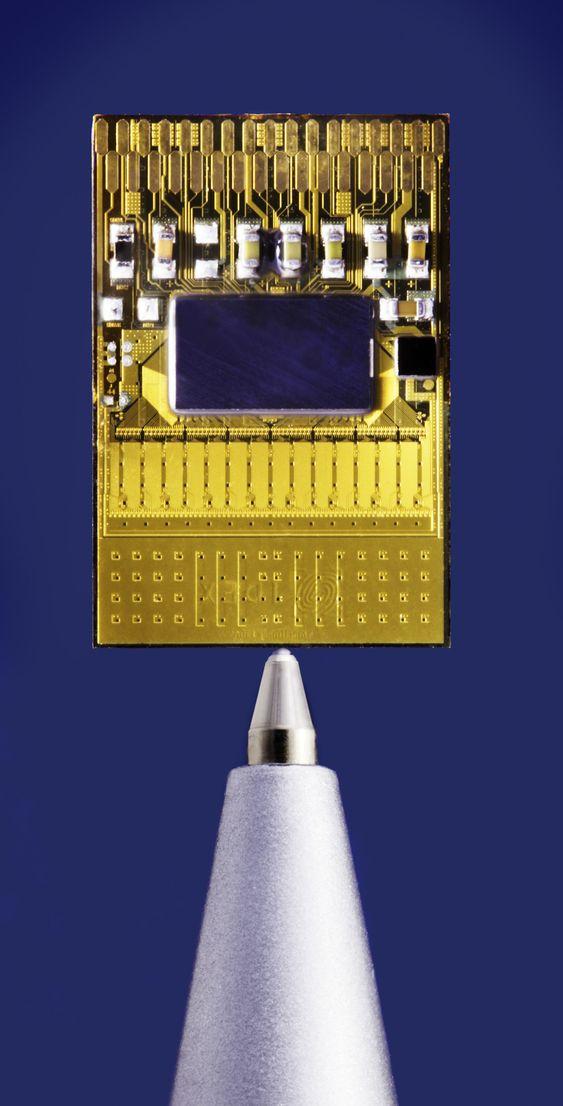 Idex-sensoren er lite plasskrevende.