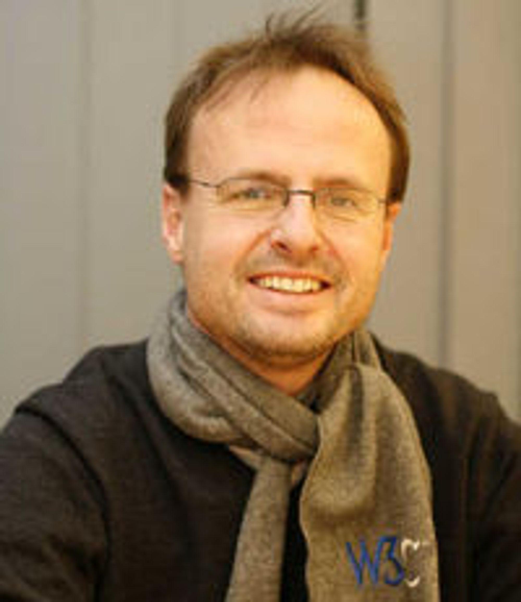 Håkon Wium Lie, teknisk sjef i  Opera Software og mannen bak CSS.