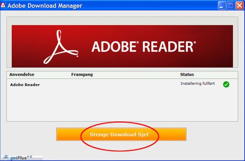 Dårlig oversettelse i Adobe Download Manager