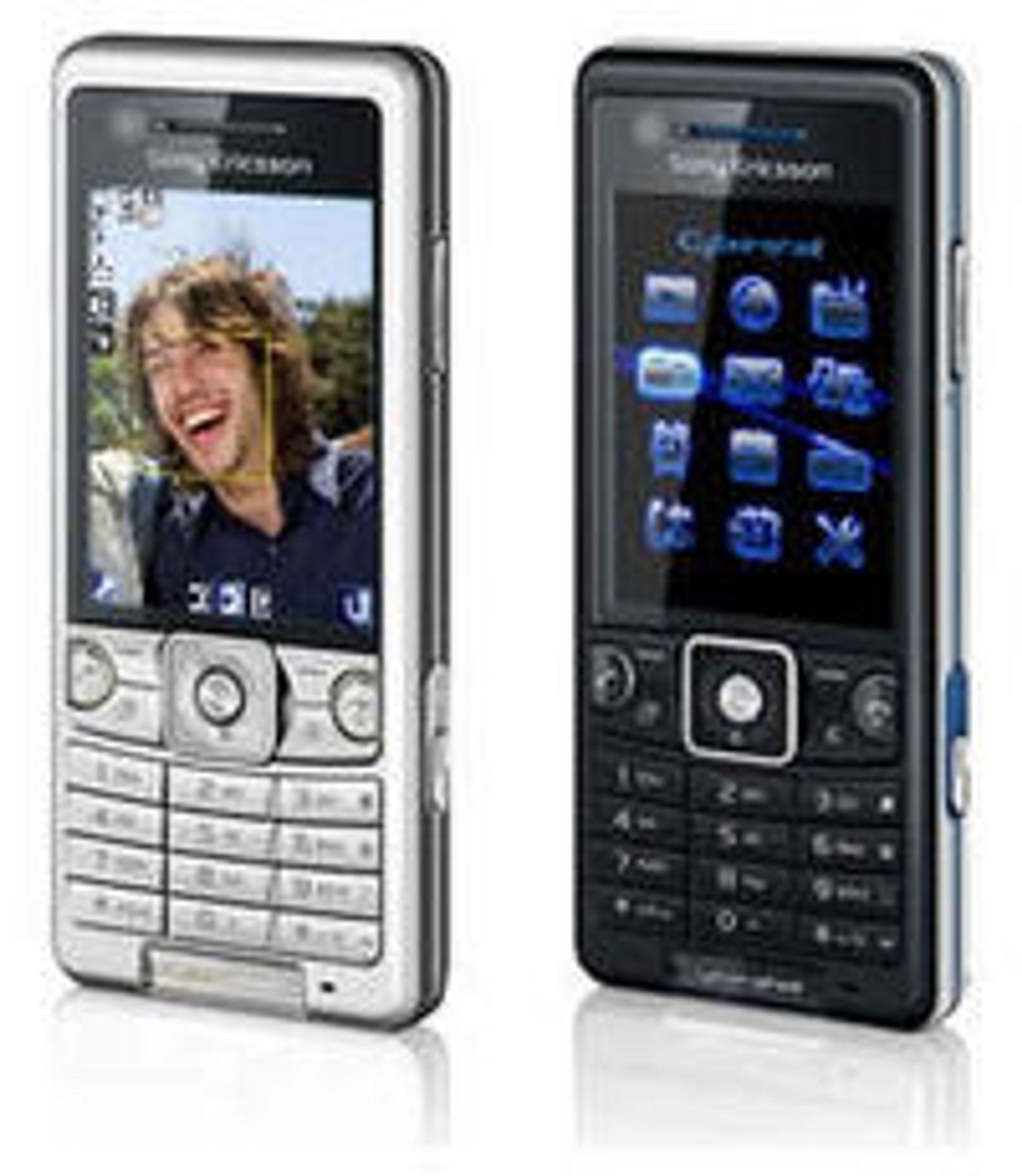 Netcom vil tilby Sony Ericsson C510 med Facebook direkte fra menyen.