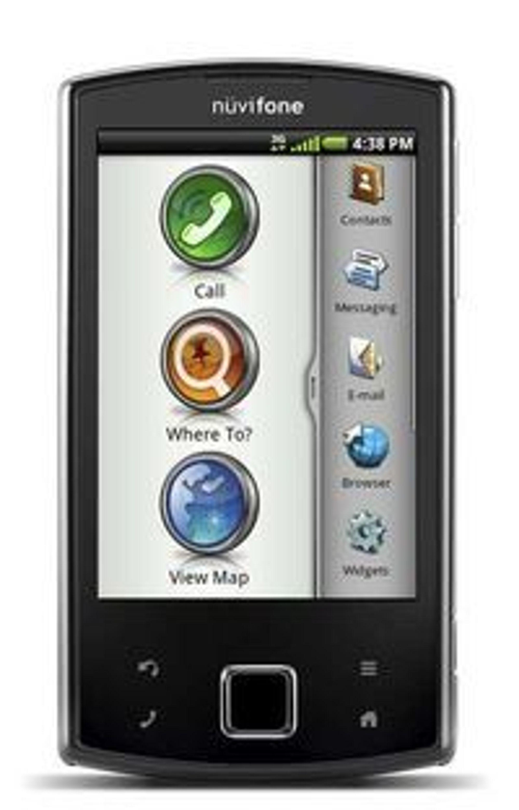 Garmin-Asus vil ikke lage flere Nüvifone-mobiler.