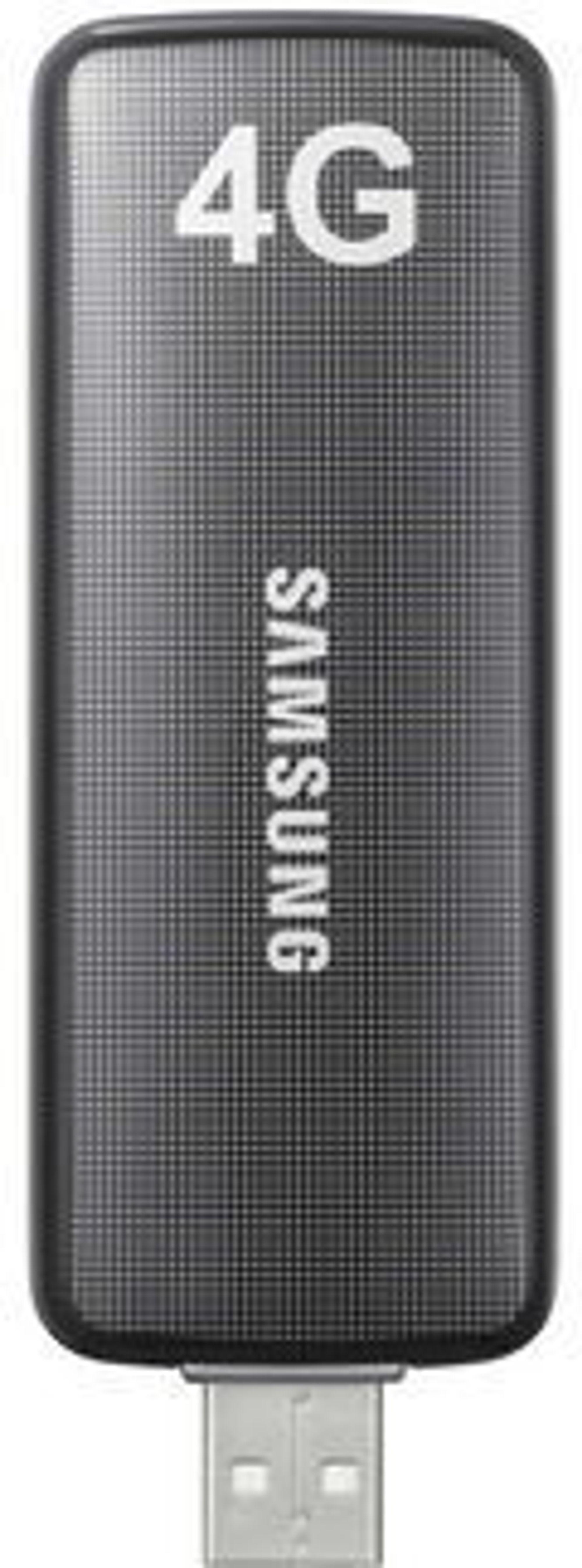 4G går igjen som begrep i Netcoms markedsføring, i likhet med USB-modemet fra leverandøren Samsung.