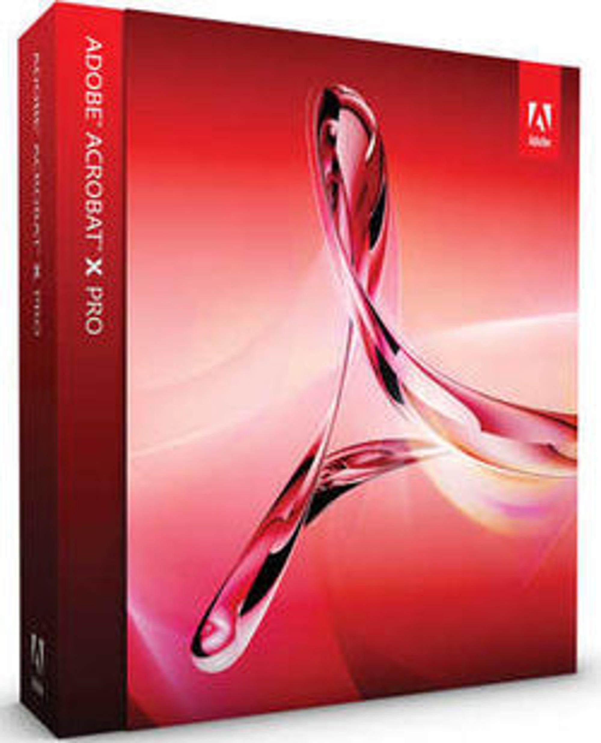 Adobe Acrobat X blir tilgjengelig i flere utgaver.
