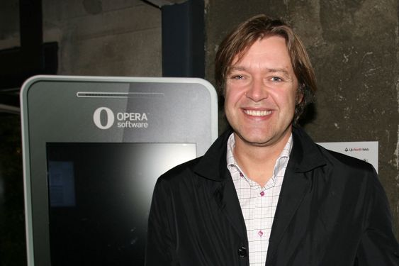 Opera-sjef Lars Boilesen.