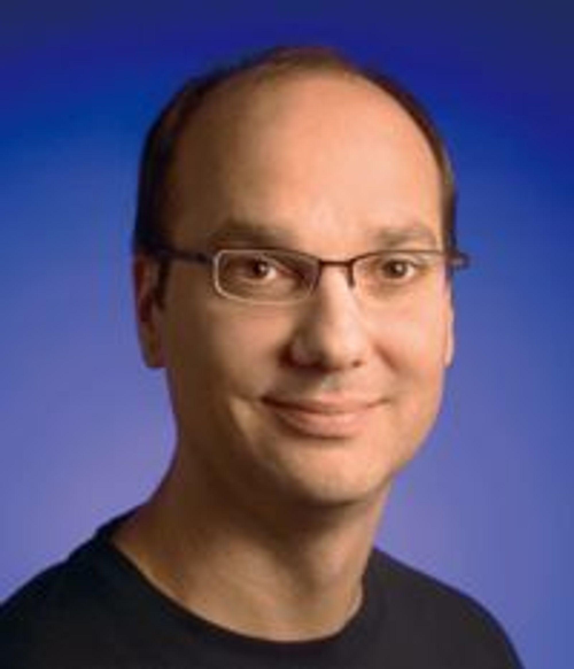 Android-sjef i Google, Andy Rubin.