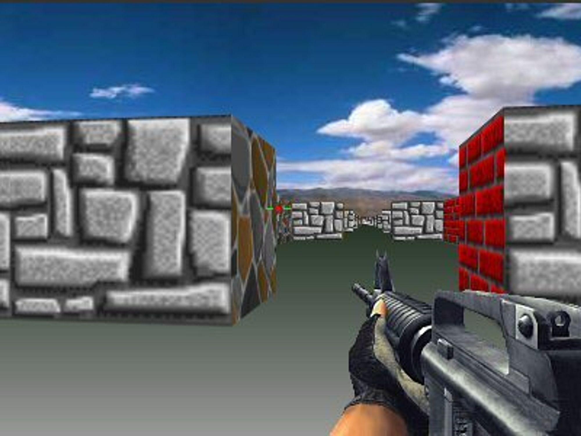 Med canvas-elementet kan man lage dataspill som vises direkte i nettleseren