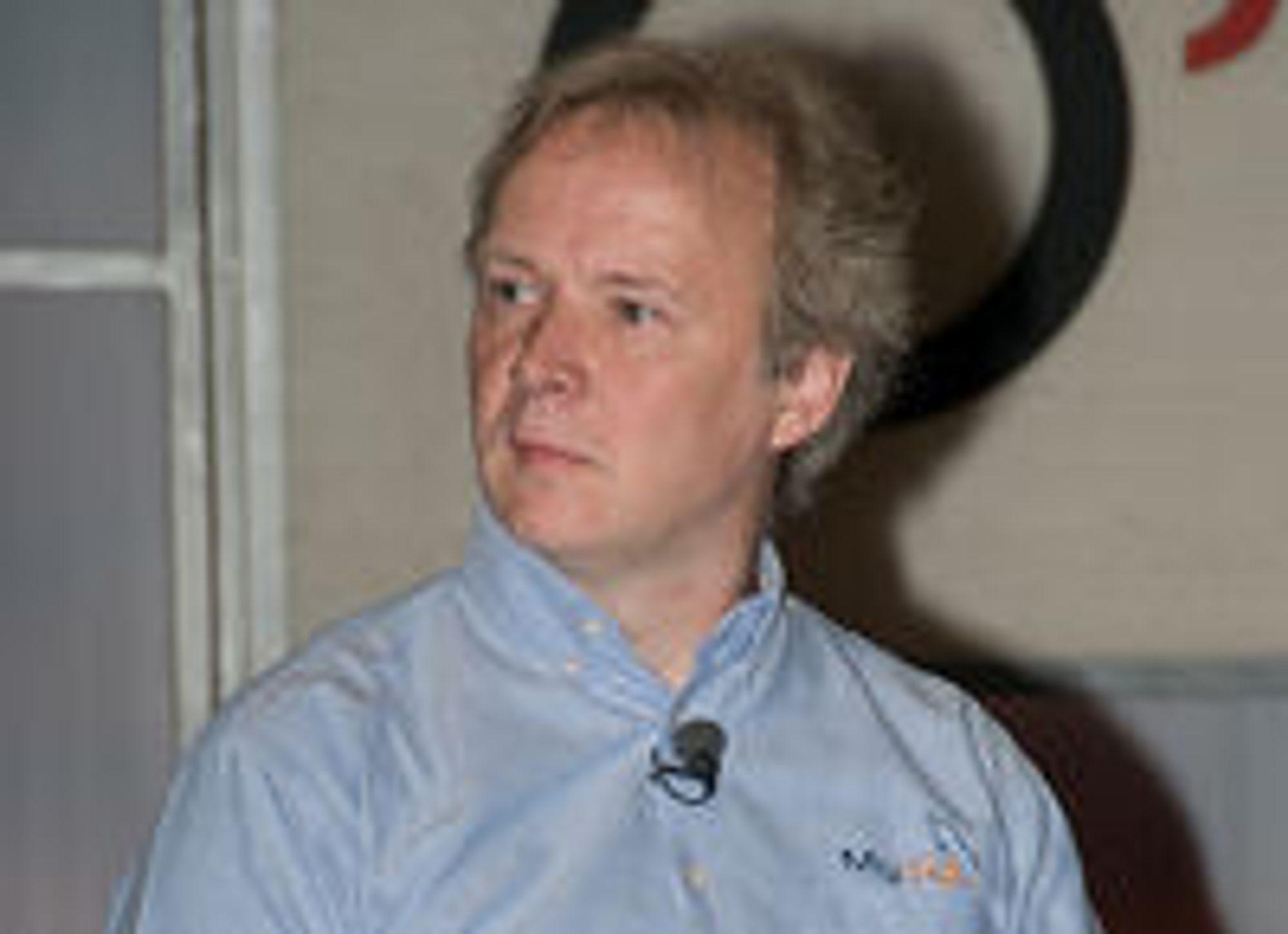 MySQL-gründer Michael Widenius. Hans datter My skal ifølge Wikipedia ha gitt navn til den kjente databasen. Foto: Sebastian Bergmann, creative commons
