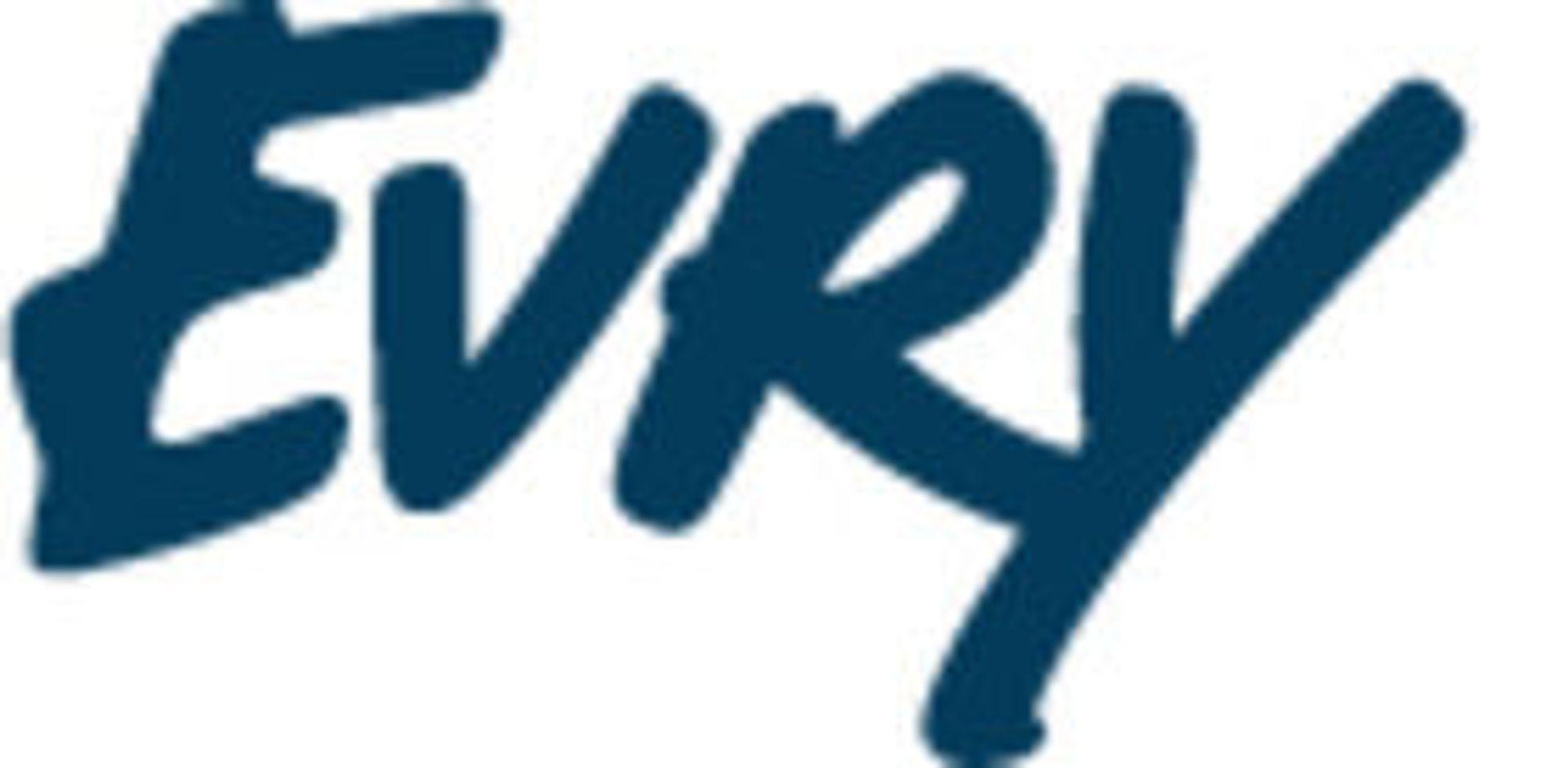 Her er den nye logoen - slik den ble presentert på en nettside hos EDB Ergogroup lørdag kveld.