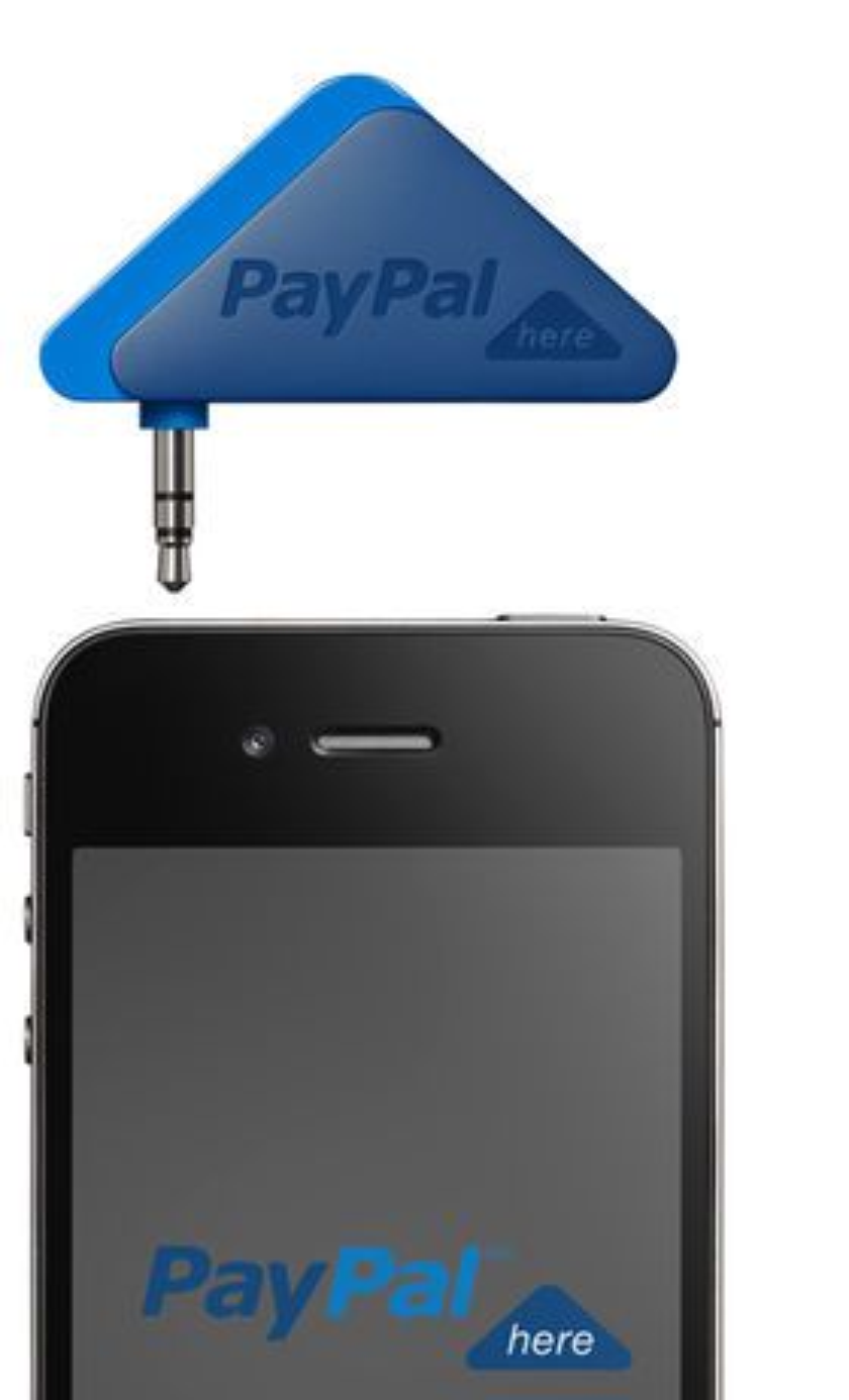 PayPal Here kan brukes sammen med iPhone og Android-baserte smartmobiler.