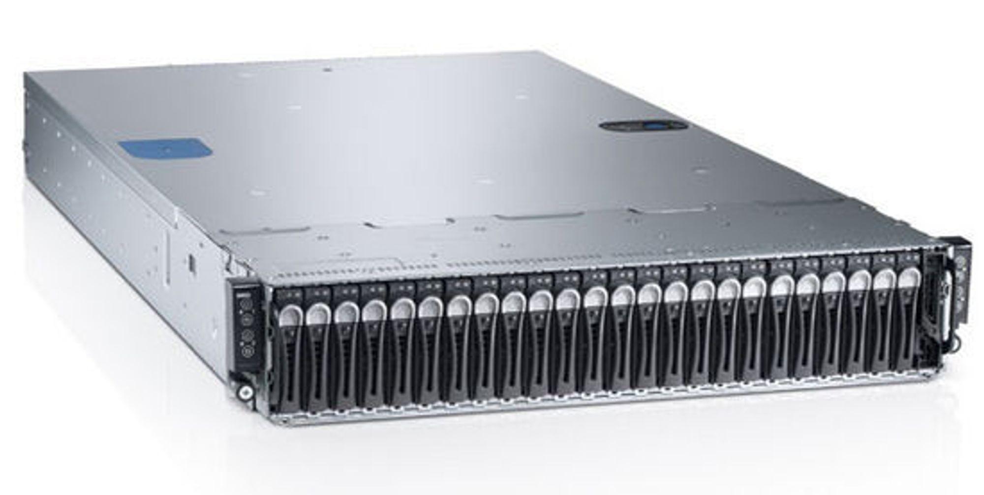 C6220 beskrives som en arbeidshest, med plass til opptil fire toveisservere. HPC-miljøer er en uttalt målgruppe.