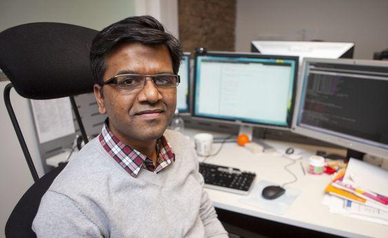 Baheerathan Vykundanathan er seniorutvikler i Aller Internett.