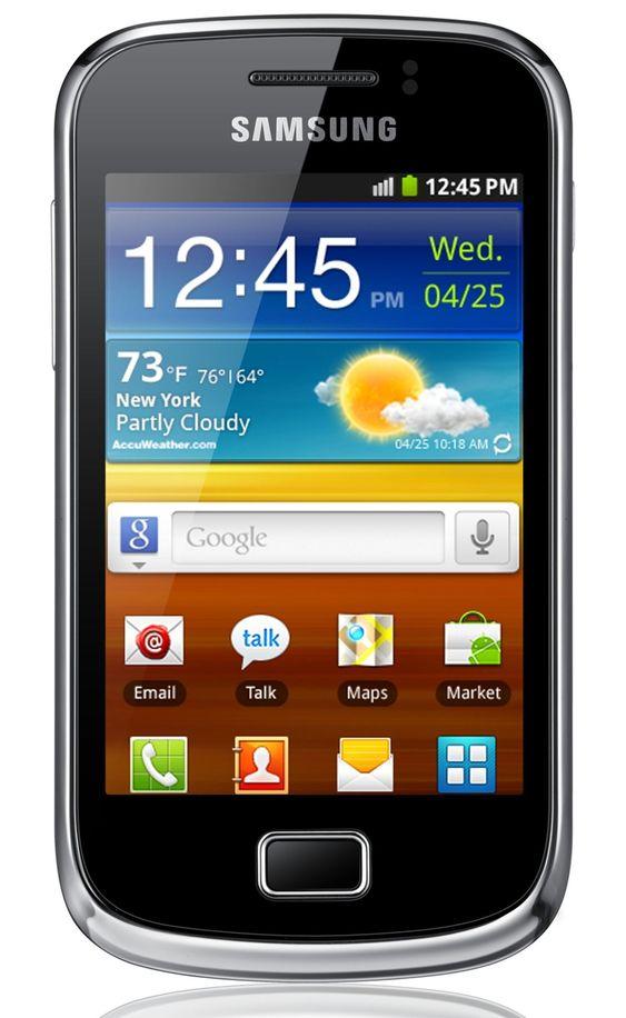Galaxy Mini 2 er utstyrt med NFC.