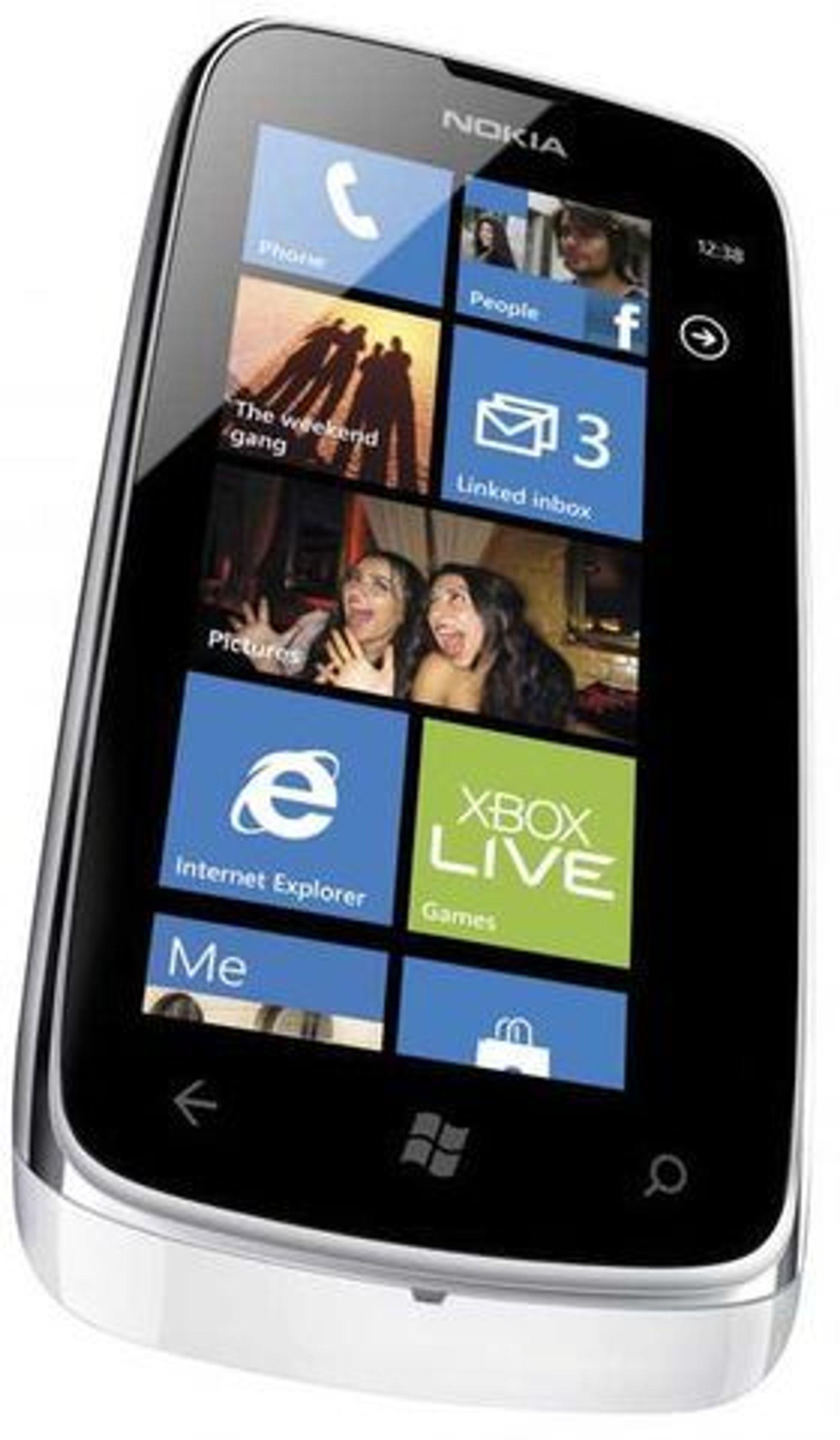 Nokia Lumia 610 er den billigste Lumia-modellen til nå.