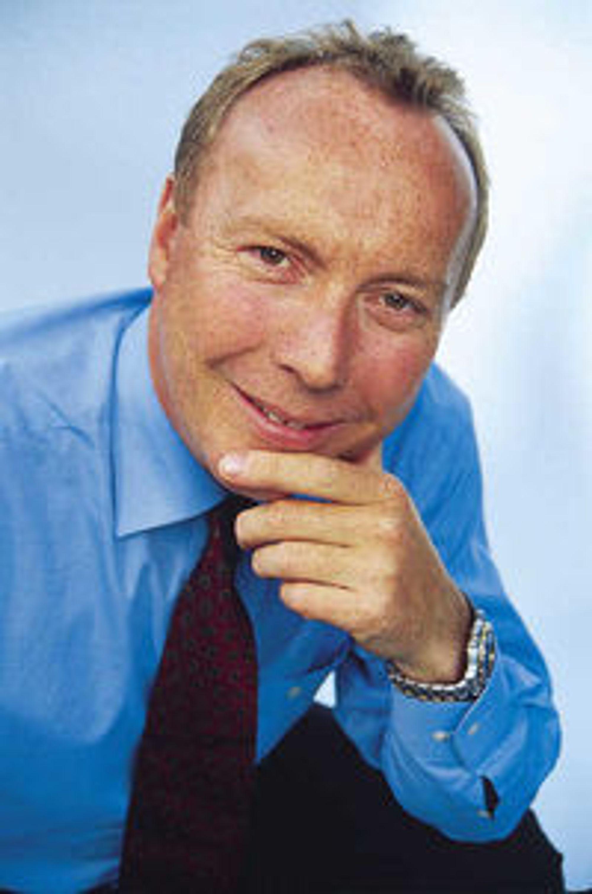 Utfordrer i driftsmarkedet: Steria-direktør Kjell Rusti.