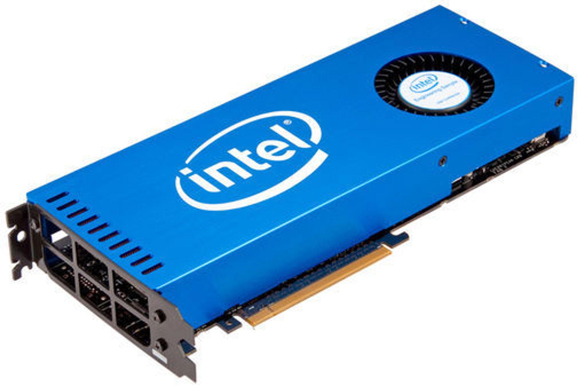 Knights Ferry, testplattformen som Intel har levert til en del utvalgte partnere.