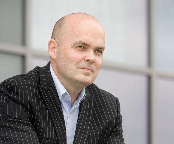 Får ikke nettbrett: kommunikasjonsdirektør Anders Lindgren i Steria Norge.