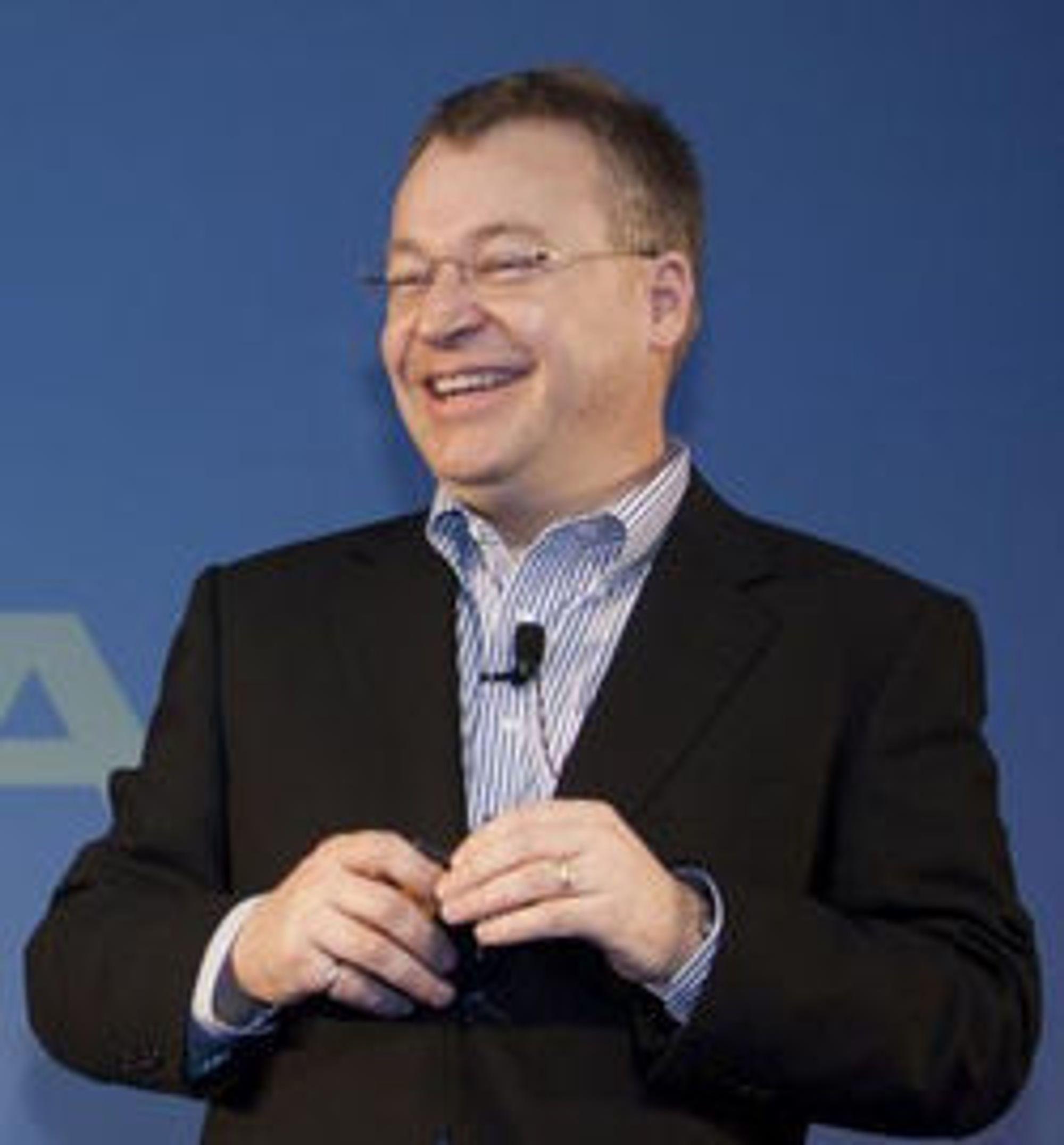 Nokia-sjef Stephen Elop.