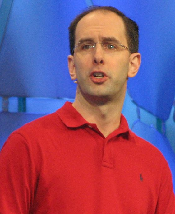 Microsofts Scott Guthrie under PDC i Los Angeles i 2009.