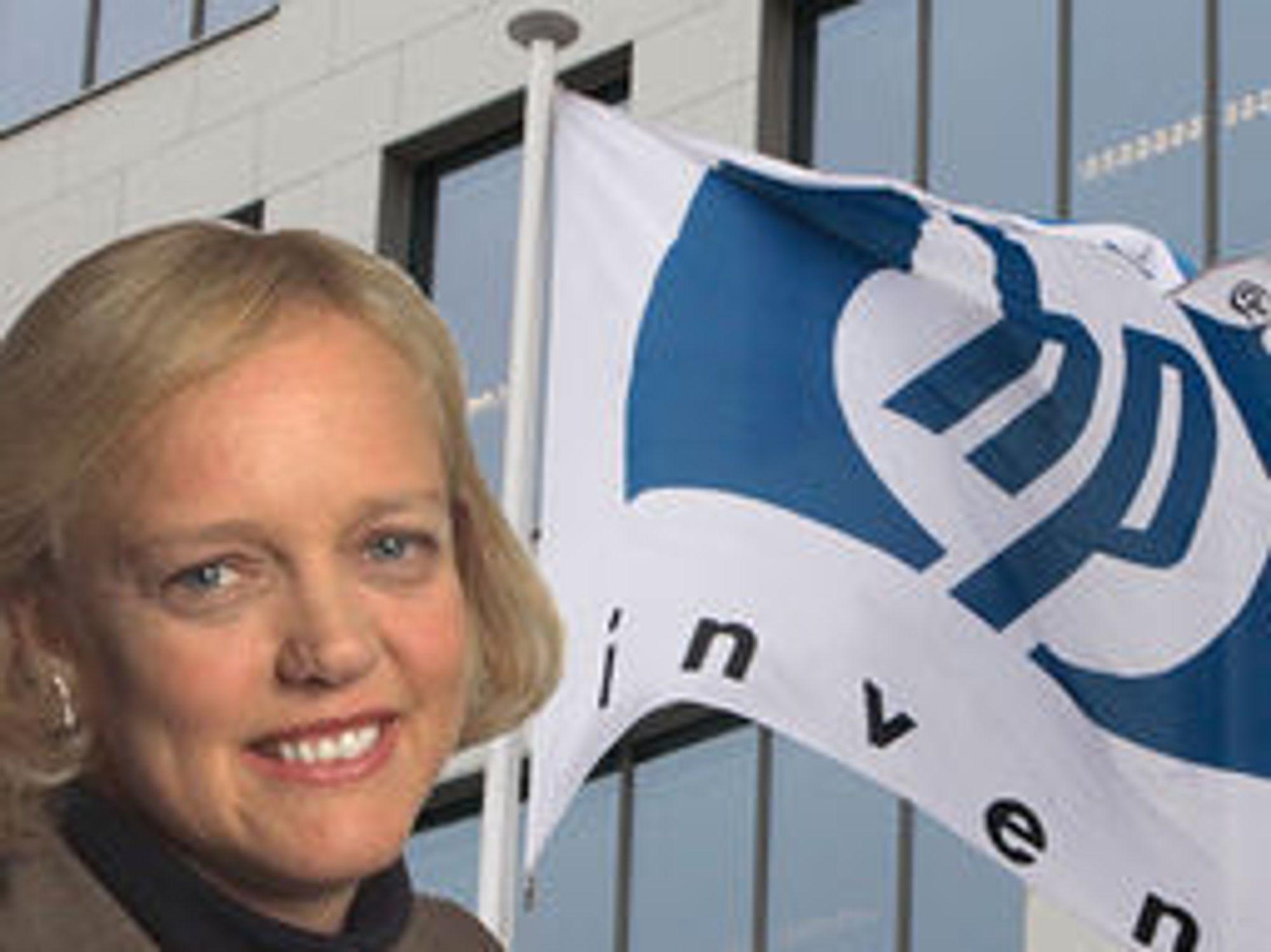 Meg Whitman sier det kan ta år å gjennomføre en nødvendig snuoperasjon i HP.