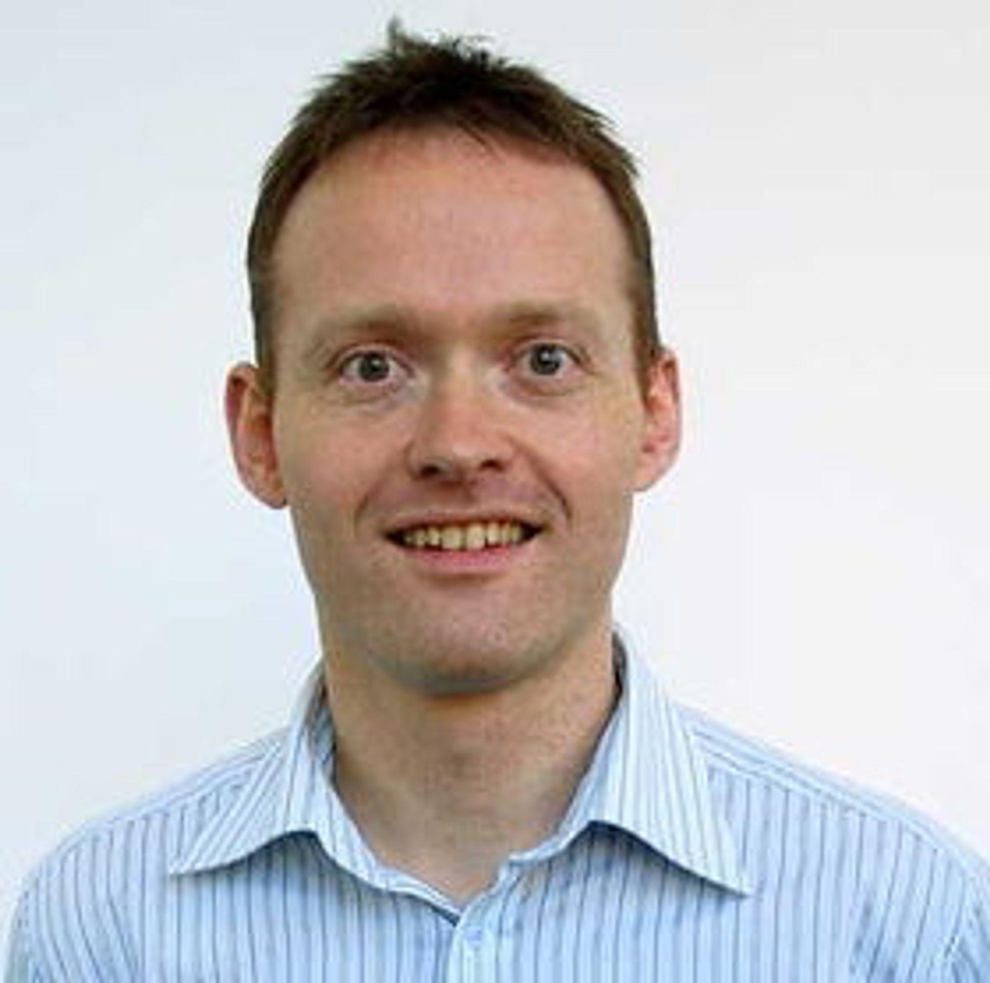 Øyvind Janbu, CTO og medgründer i Energy Micro.
