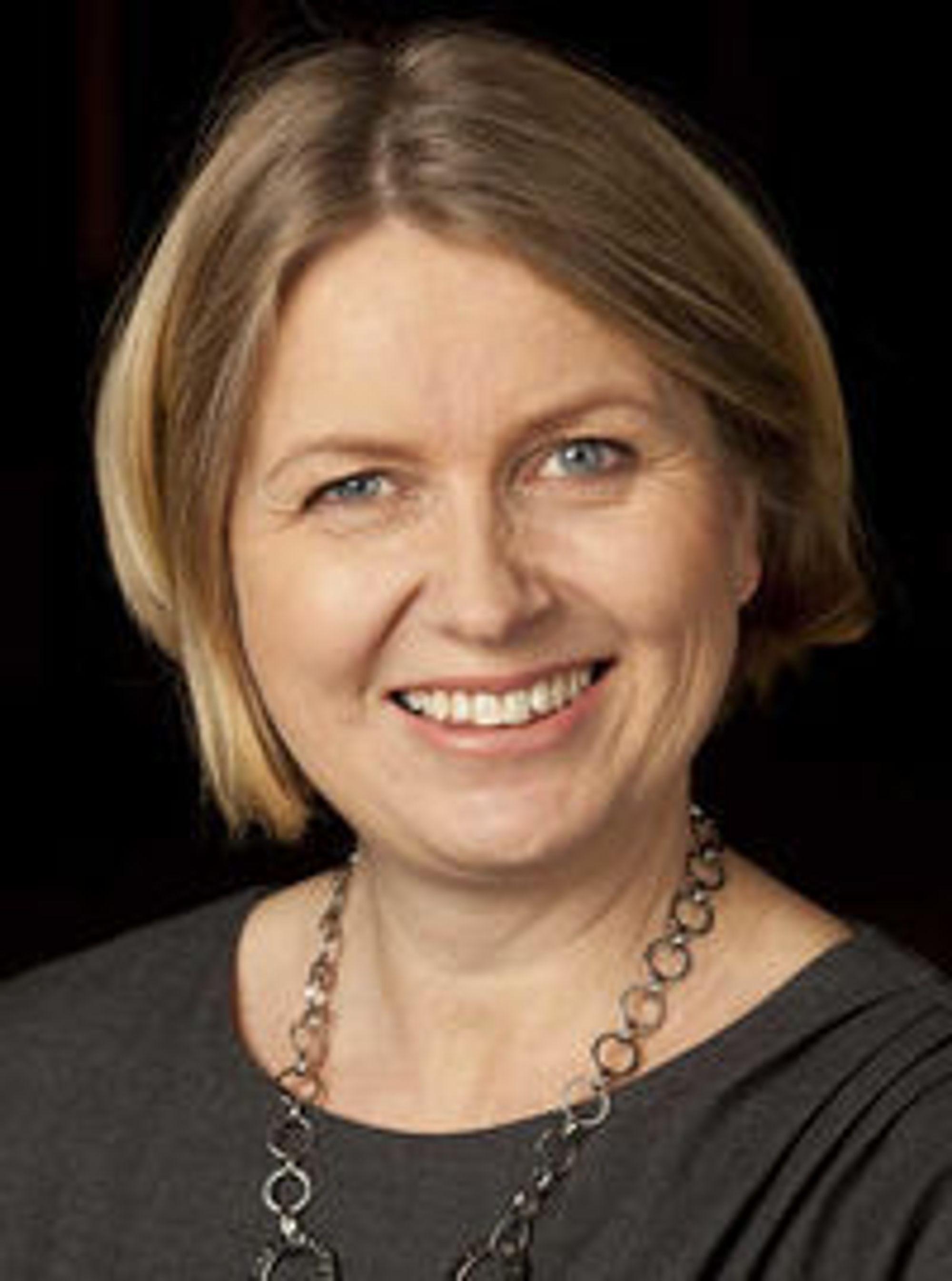 VELDIG POSITIV: Finansbyråd Kristin Vinje (H) ønsker seg et samarbeid med staten om utvikling av nye digitale tjenester.