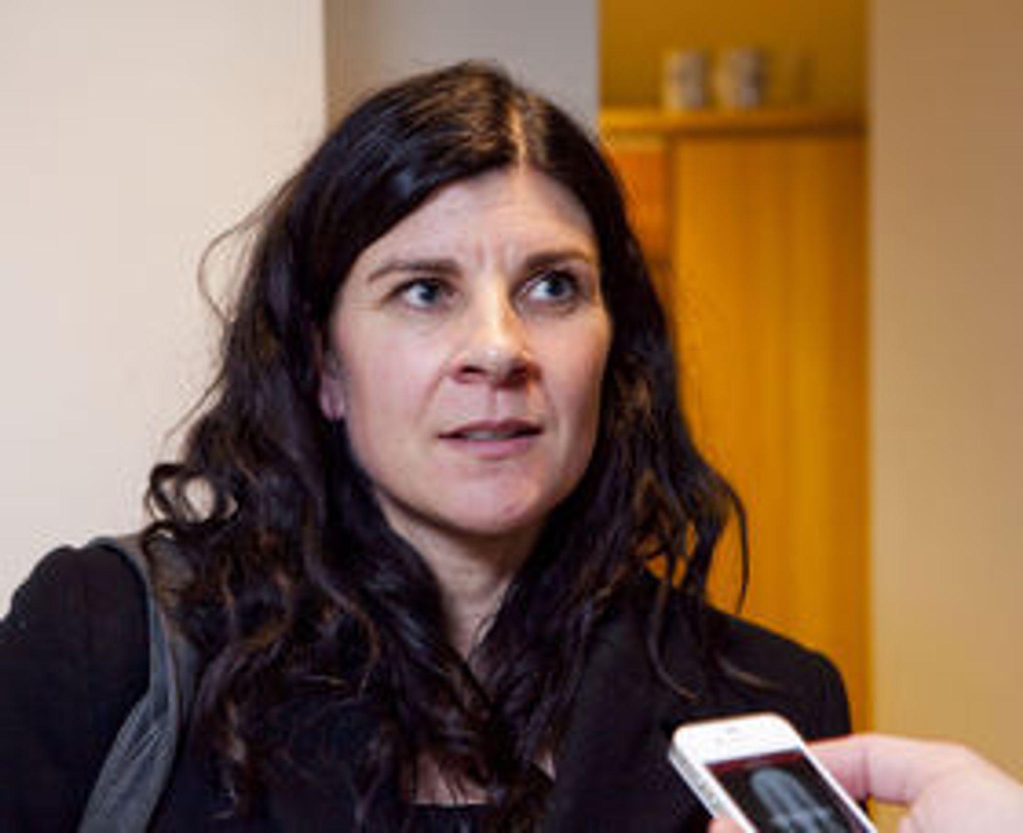Skeptisk til ende-til-ende-kryptering: Seniorrådgiver Heidi Karlsen i samferdselsdepartementet.