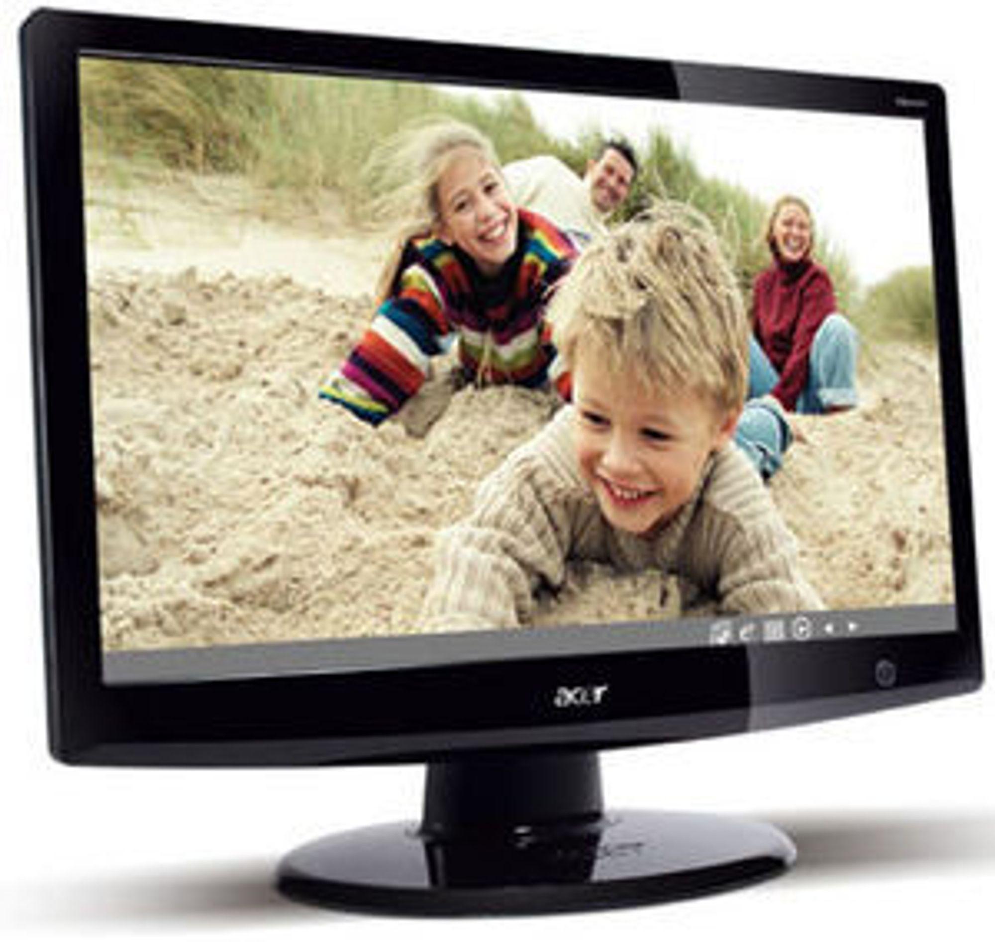 Angivelig et bilde av Acer DX240H.