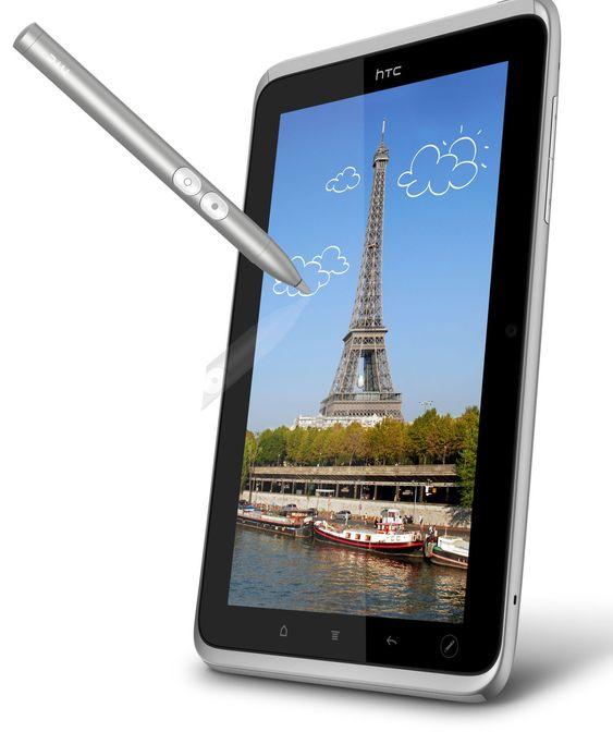 HTC Flyer gjeninnfører stylusen, men kun som et supplement for bruk sammen med ny funksjonalitet.