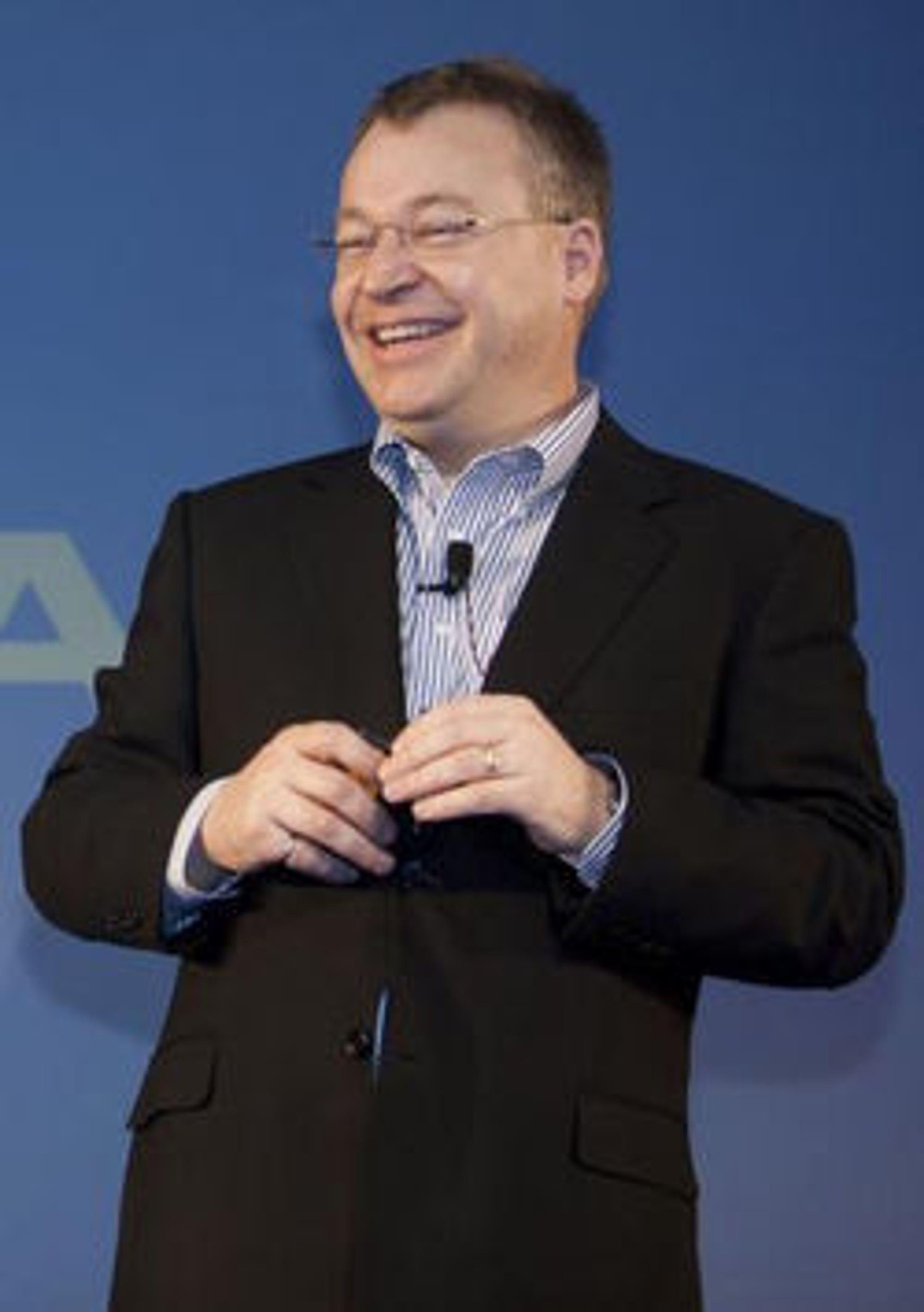 Stephen Elop, toppsjef i Nokia.