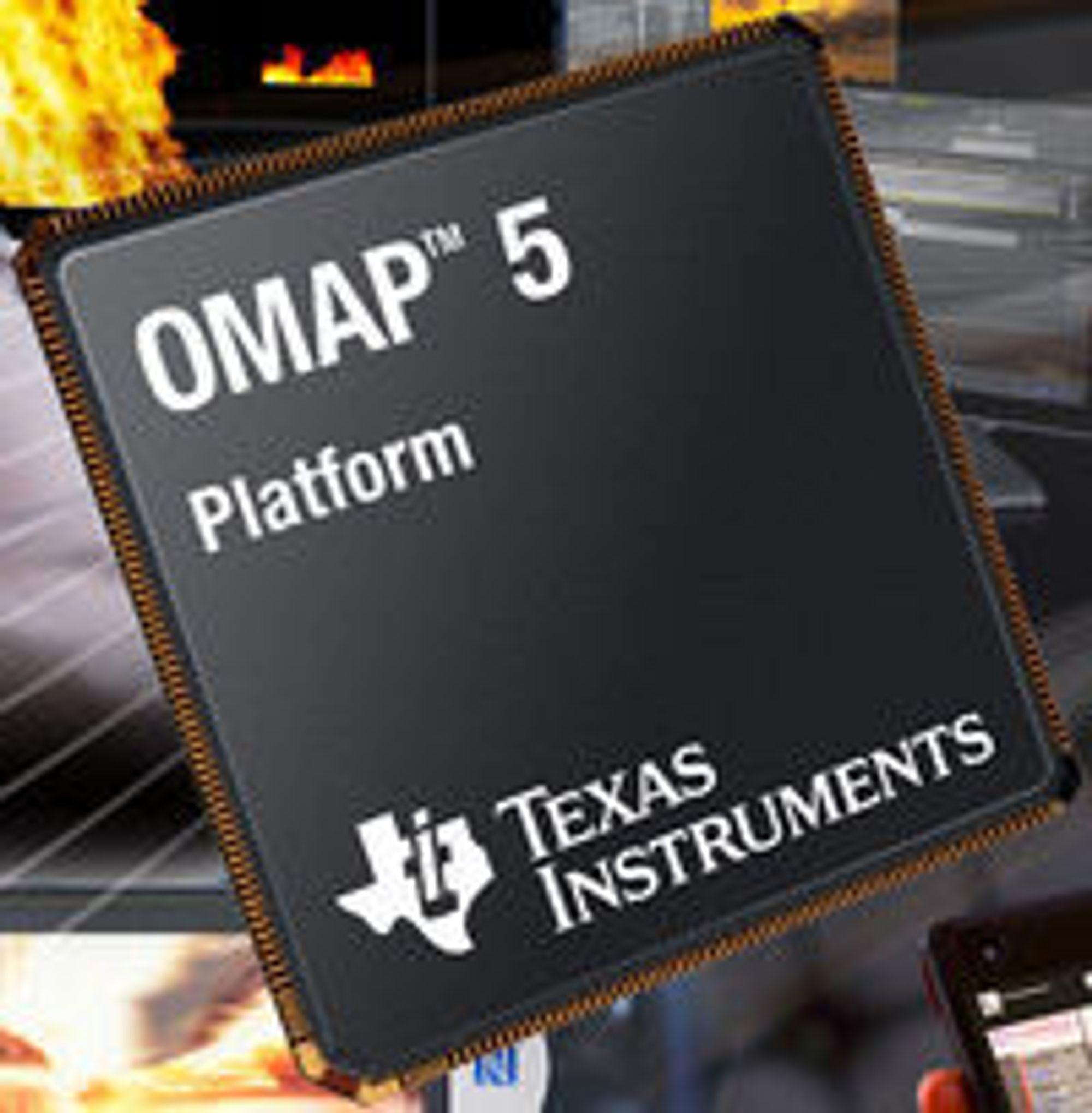TIs OMAP 5-plattform.