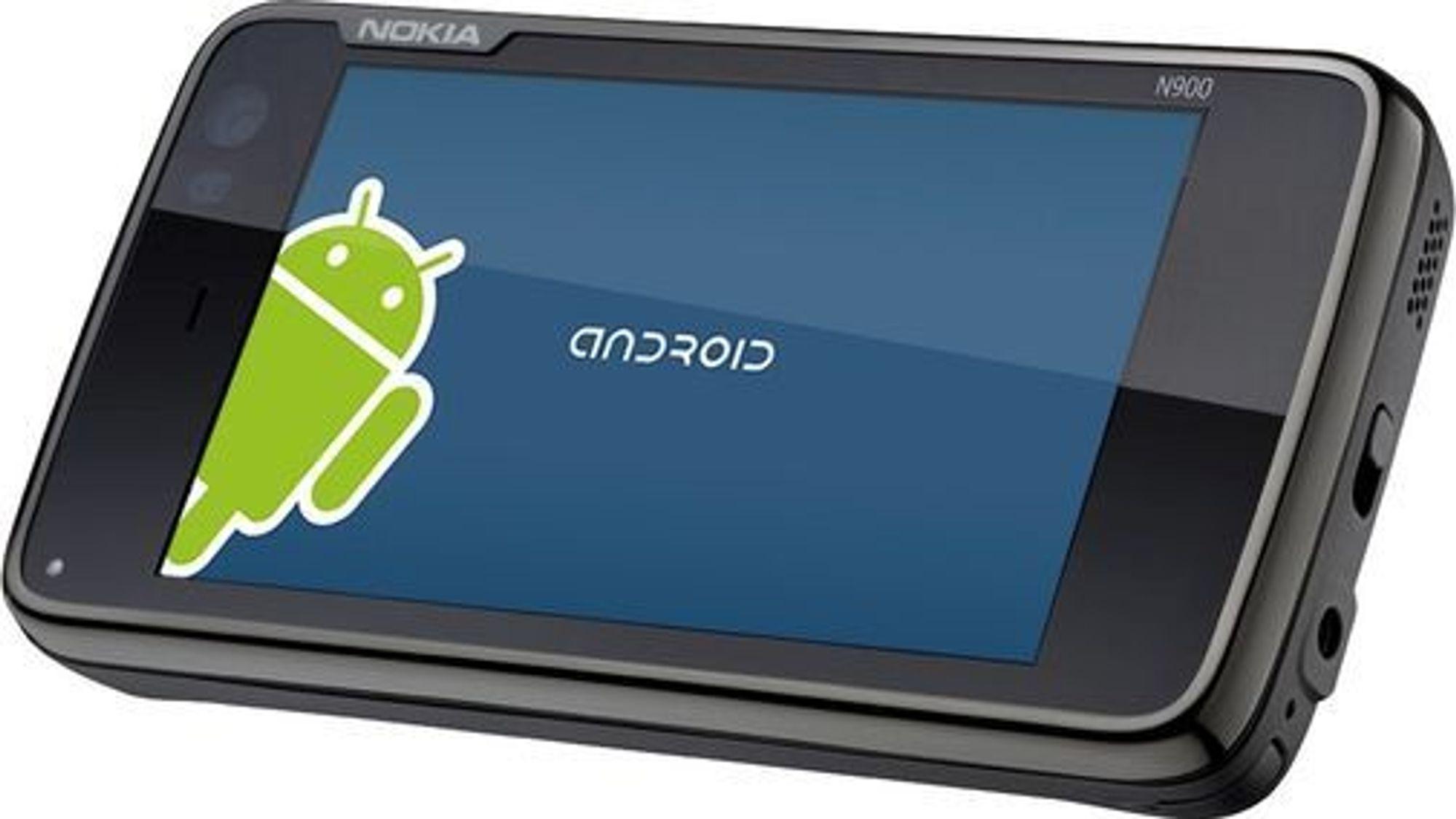 Alien Dalvik på Nokia N900.