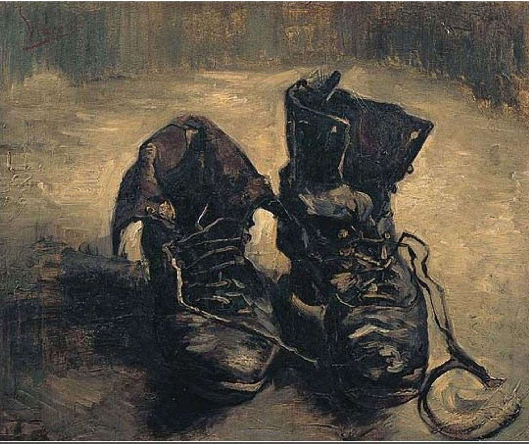 «Støvler» av Vincent van Gogh spiller en viktig rolle i demo-utgaven av Europeana.