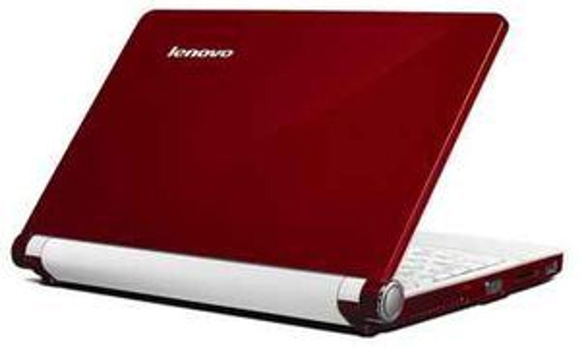 Lenovos ultraportable maskiner leveres i rød, sort eller hvit finish.