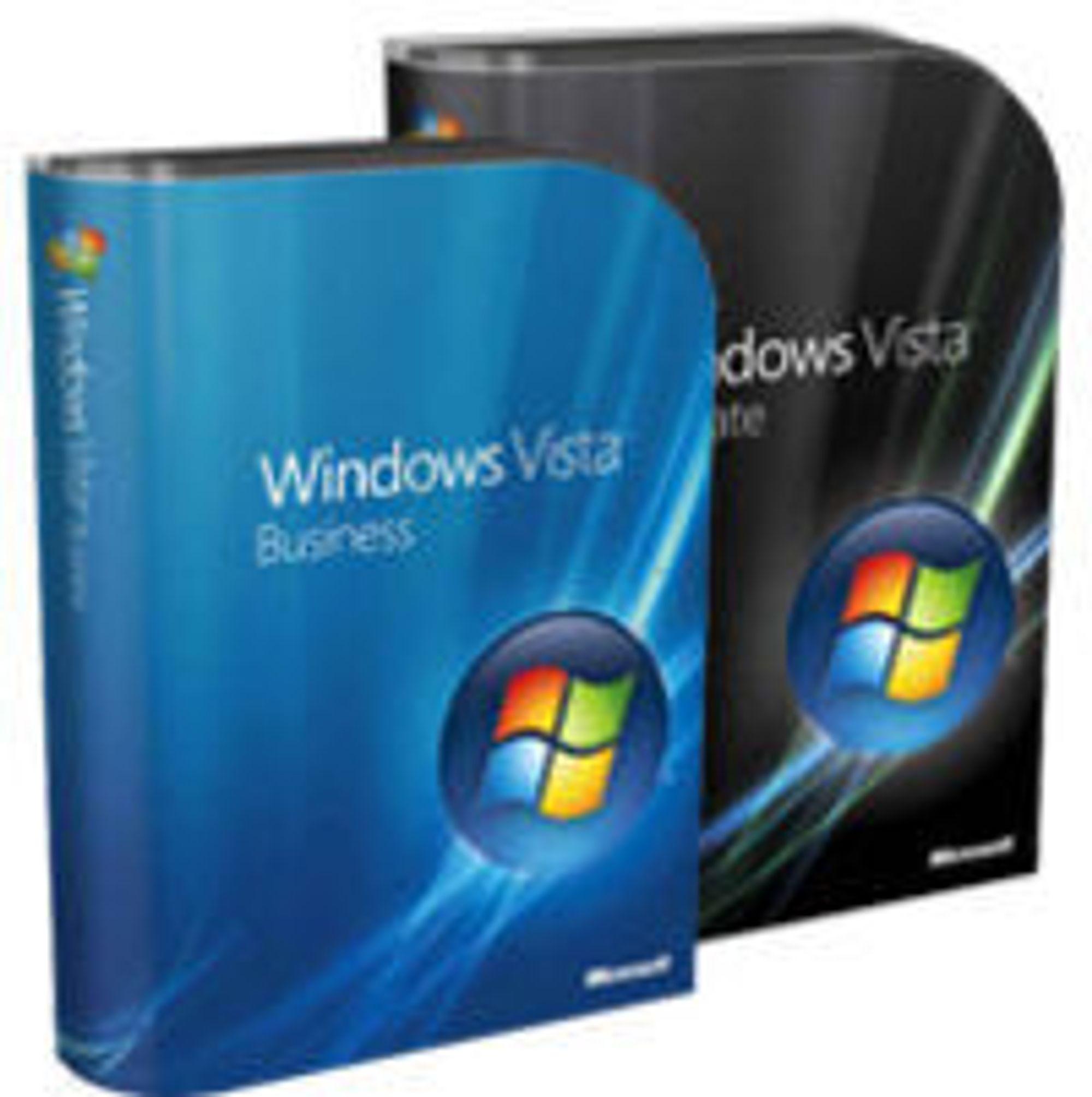 Windows Vista: Ikke like populært som Microsoft skal ha det til.