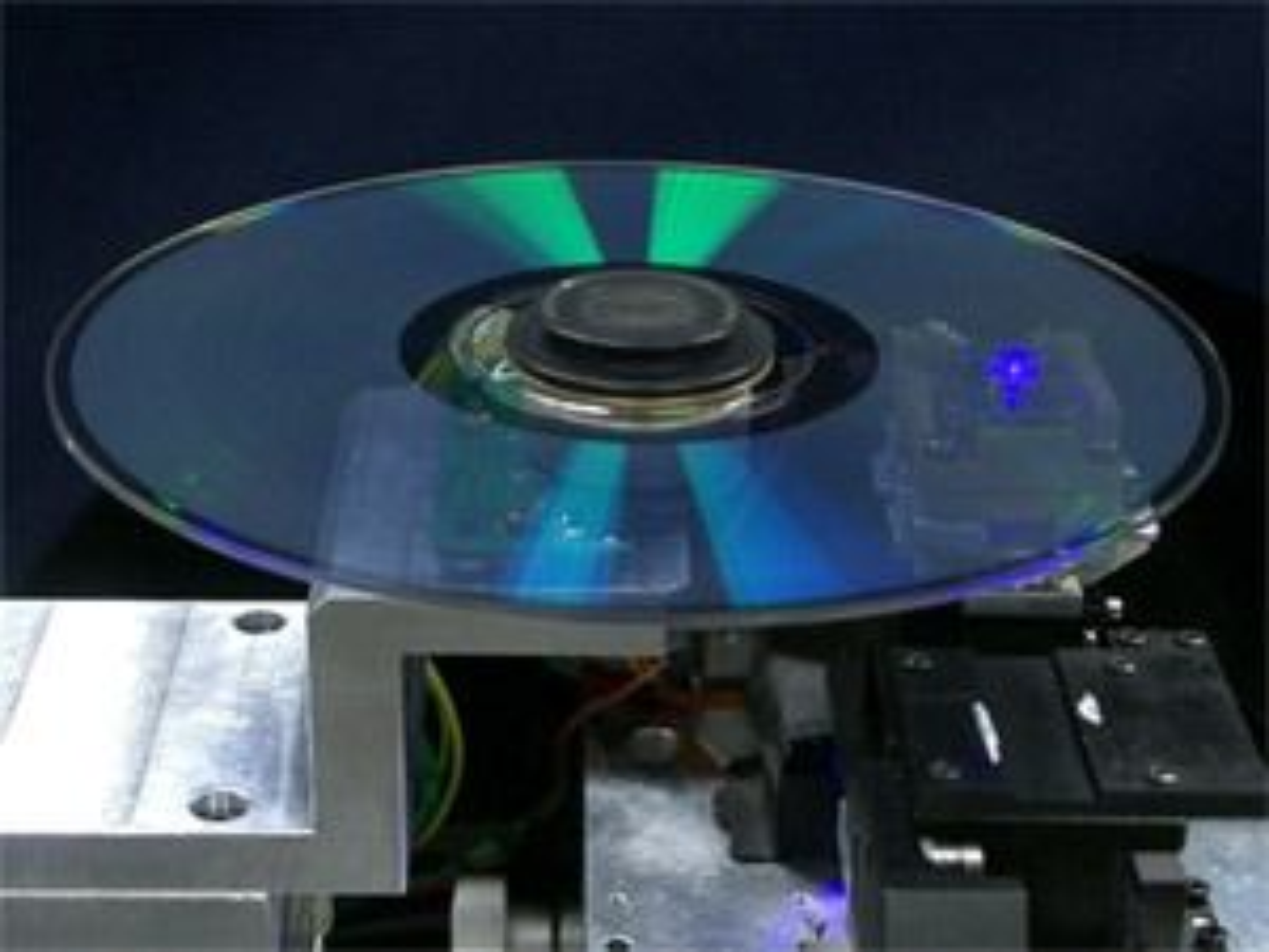 Pioneer 16-lags optisk plate med 400 gigabyte kapasitet