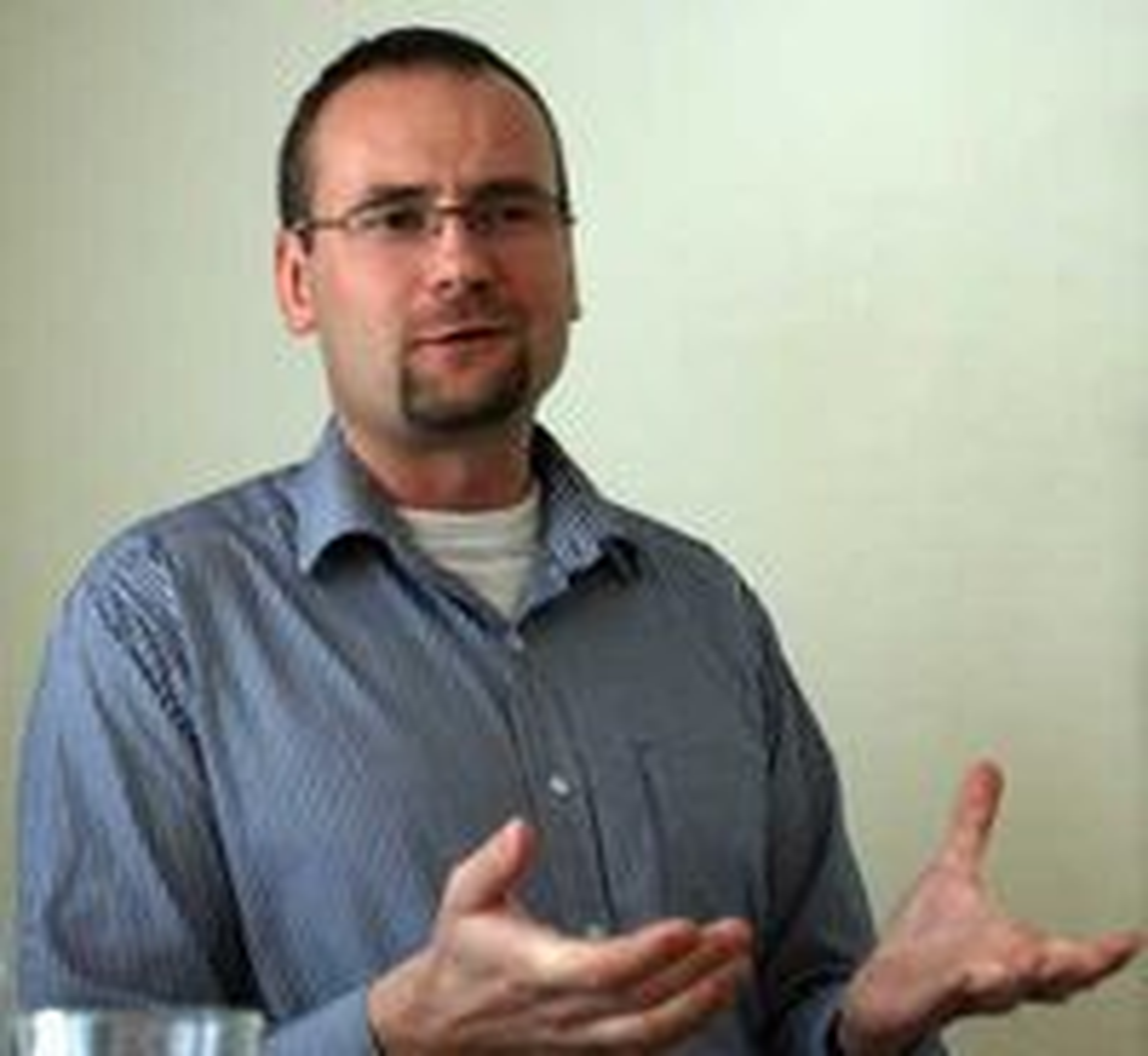 Sikkerhetsekspert Piotr Linke fra Sourcefire.