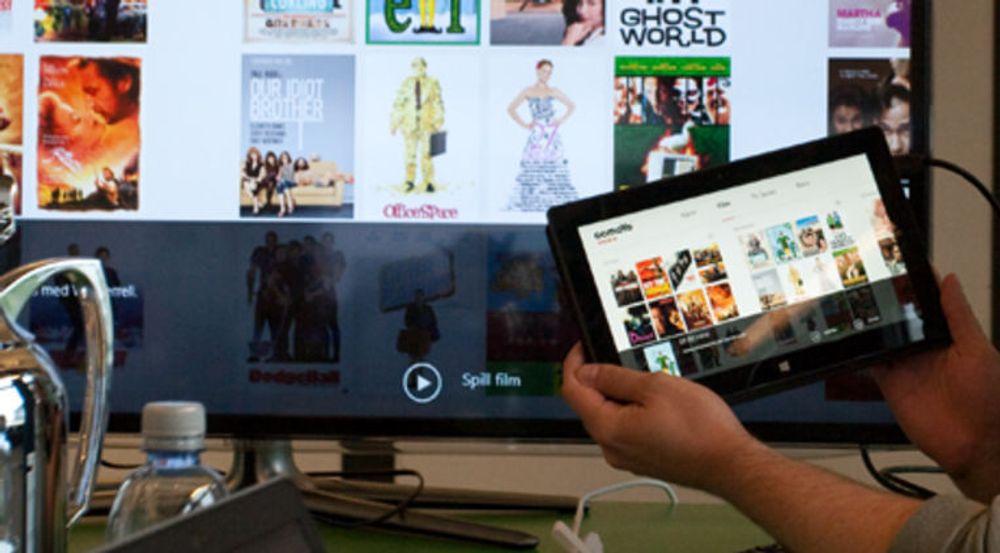 Comoyo rakk knapt å lansere filmstrømming i abonnementsform, før View-tjenesten avlives etter det som trolig var laber etterspørsel. Her viser seniorutvikler Kevin Simons frem tjenesten i web- og iPad-utgave.