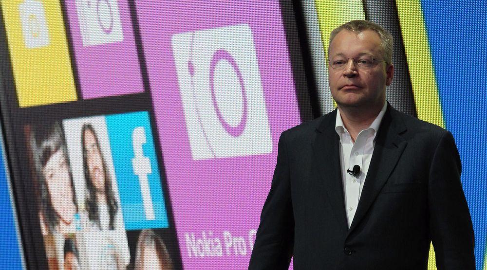 Stephen Elop (bildet) har i Nokia operert som femtekolonist for Microsoft, skriver Knut Yrvin i denne kommentaren.