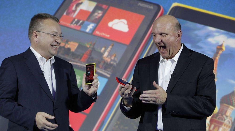Stephen Elop og Steve Ballmer har inngått et ekteskap. Men er det et tvangsekteskap?