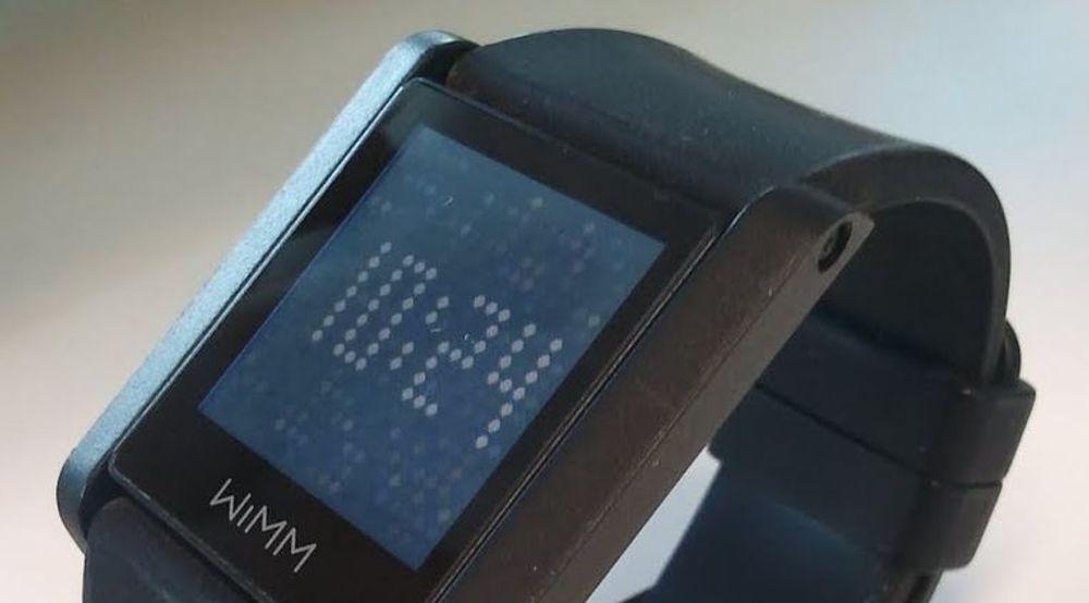 Google eier selskapet bak dette Android-baserte smarturet, WIMM One, som ble lansert i 2011.