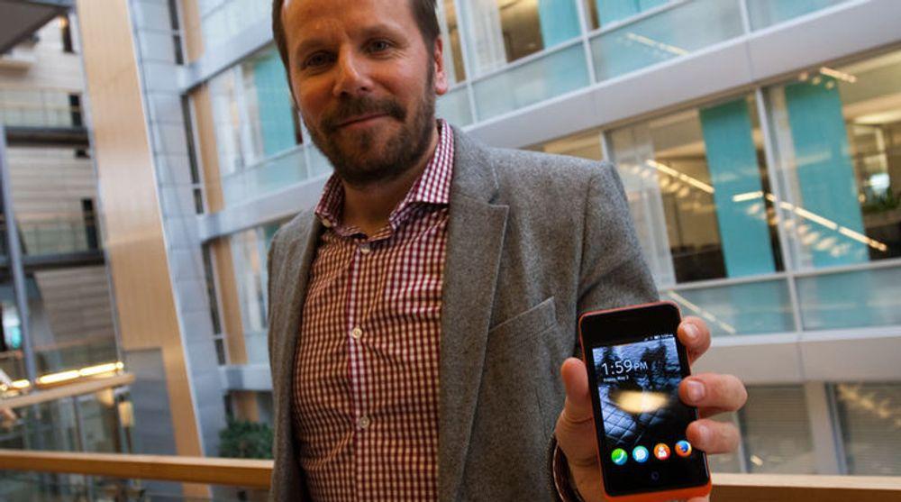 Frode Vestnes er prosjektleder for Firefox OS i Telenor. Neste uke tar de imot utviklere fra hele verden til en kjempedugnad for plattformen.