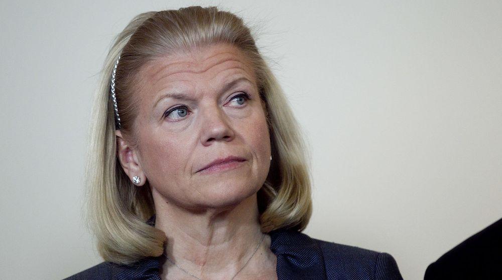 IBMs toppsjef, Ginni Rometty, har grunn til å være betenkt.