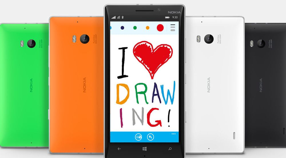 Det er nå mulig å lage og sende tegninger med Skype-klienten for Windows Phone 8.x.