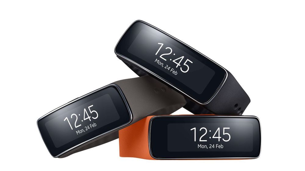 Microsofts smartklokke skal være fokusert på helse. På bildet en helseorientert klokke fra Samsung.